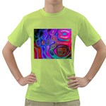space-colors-2-988212 Green T-Shirt