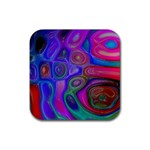 space-colors-2-988212 Rubber Coaster (Square)