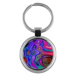 space-colors-2-988212 Key Chain (Round)