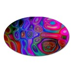 space-colors-2-988212 Magnet (Oval)
