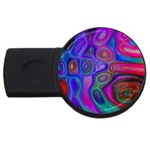 space-colors-2-988212 USB Flash Drive Round (1 GB)