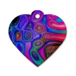 space-colors-2-988212 Dog Tag Heart (Two Sides)