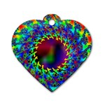 goa2-97848 Dog Tag Heart (One Side)
