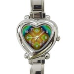 Bobo-660847 Heart Italian Charm Watch