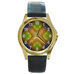 Bobo-660847 Round Gold Metal Watch