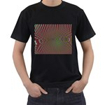 Spiral-Abnorm%2001-601877 Black T-Shirt (Two Sides)