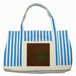 Spiral-Abnorm%2001-601877 Striped Blue Tote Bag