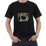 butterfly_4 Black T-Shirt