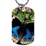 butterfly_4 Dog Tag (Two Sides)