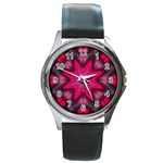 X_Red_Party_Style-777633 Round Metal Watch