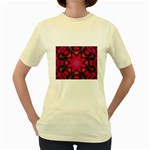 X_Red_Party_Style-777633 Women s Yellow T-Shirt