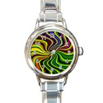 hippy-550591 Round Italian Charm Watch