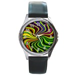 hippy-550591 Round Metal Watch