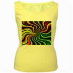 hippy-550591 Women s Yellow Tank Top
