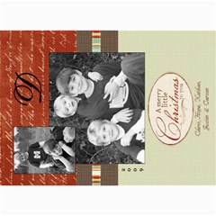 Christmas Again By Hope   5  X 7  Photo Cards   Ohg6ugt08m32   Www Artscow Com 7 x5 Photo Card - 1