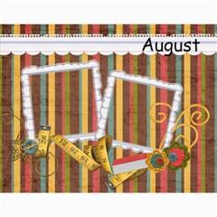 Calendar 2015 By Sheena   Wall Calendar 11  X 8 5  (12 Months)   Olpi6a3h97fz   Www Artscow Com Month