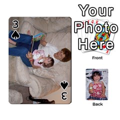 Betts Family By Peggy Betts   Playing Cards 54 Designs   Bkiyt6w55xdz   Www Artscow Com Front - Spade3