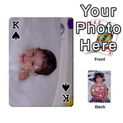 King Betts Family By Peggy Betts   Playing Cards 54 Designs   Bkiyt6w55xdz   Www Artscow Com Front - SpadeK
