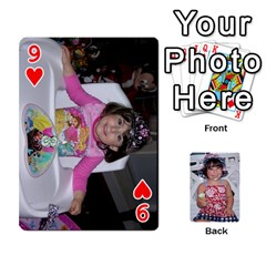 Betts Family By Peggy Betts   Playing Cards 54 Designs   Bkiyt6w55xdz   Www Artscow Com Front - Heart9