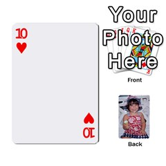 Betts Family By Peggy Betts   Playing Cards 54 Designs   Bkiyt6w55xdz   Www Artscow Com Front - Heart10