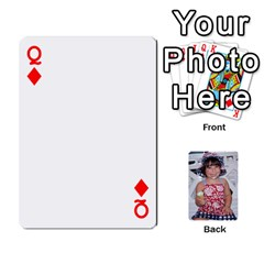 Queen Betts Family By Peggy Betts   Playing Cards 54 Designs   Bkiyt6w55xdz   Www Artscow Com Front - DiamondQ