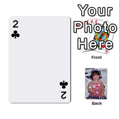 Betts Family By Peggy Betts   Playing Cards 54 Designs   Bkiyt6w55xdz   Www Artscow Com Front - Club2