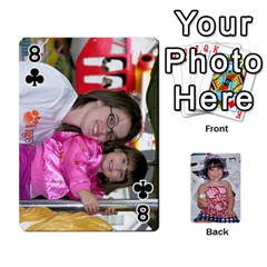 Betts Family By Peggy Betts   Playing Cards 54 Designs (rectangle)   Bkiyt6w55xdz   Www Artscow Com Front - Club8