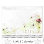 2010 Calendar - Wall Calendar 11  x 8.5  (12-Months)