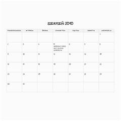 2010 Calendar By Mru   Wall Calendar 11  X 8 5  (12 Months)   Emhxdpio5csc   Www Artscow Com Aug 2010