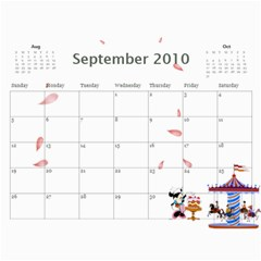 Yumi s Calendar By Cunyeu   Wall Calendar 11  X 8 5  (12 Months)   2gqru8jswrce   Www Artscow Com Sep 2010
