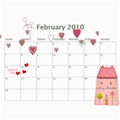 Yumi s Calendar By Cunyeu Feb 2010