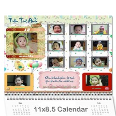 Lich 2010 By Le Hien   Wall Calendar 11  X 8 5  (12 Months)   2cjpntgieznj   Www Artscow Com Cover