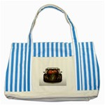 5-110-1024x768_3D_008 Striped Blue Tote Bag