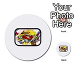 Taken-Tattoo-Belt-Buckle Multi-purpose Cards (Round)