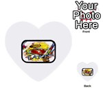 Taken-Tattoo-Belt-Buckle Multi-purpose Cards (Heart)
