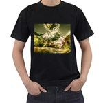 2-1252-Igaer-1600x1200 Black T-Shirt (Two Sides)