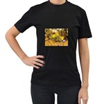 2-95-Animals-Wildlife-1024-028 Women s Black T-Shirt
