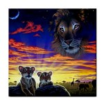 2-77-Animals-Wildlife-1024-010 Tile Coaster