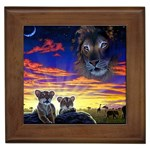 2-77-Animals-Wildlife-1024-010 Framed Tile