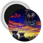 2-77-Animals-Wildlife-1024-010 3  Magnet