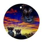 2-77-Animals-Wildlife-1024-010 Ornament (Round)