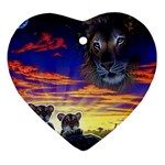 2-77-Animals-Wildlife-1024-010 Ornament (Heart)