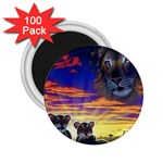2-77-Animals-Wildlife-1024-010 2.25  Magnet (100 pack)