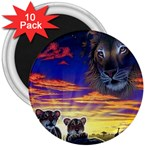 2-77-Animals-Wildlife-1024-010 3  Magnet (10 pack)