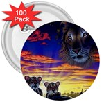 2-77-Animals-Wildlife-1024-010 3  Button (100 pack)