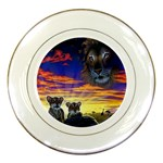 2-77-Animals-Wildlife-1024-010 Porcelain Plate