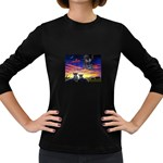 2-77-Animals-Wildlife-1024-010 Women s Long Sleeve Dark T-Shirt