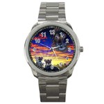 2-77-Animals-Wildlife-1024-010 Sport Metal Watch
