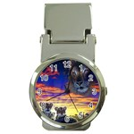 2-77-Animals-Wildlife-1024-010 Money Clip Watch