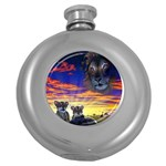 2-77-Animals-Wildlife-1024-010 Hip Flask (5 oz)